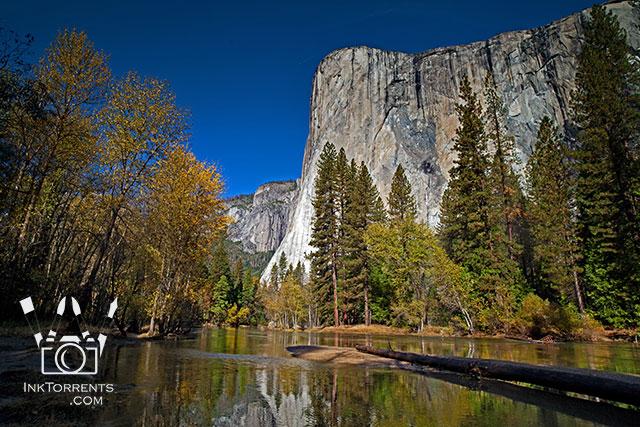 Purchase card of El Capitan In Autumn Yosemite Naitonal Park @ InkTorrents.com by Soma