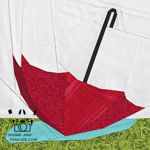 April Showers quilt pattern Shop Whims And Fancies Soma Acharya