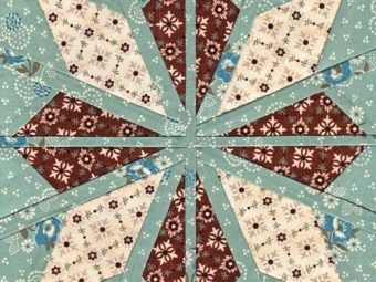Fair Isle Star quilt pattern Shop Whims And Fancies Soma Acharya