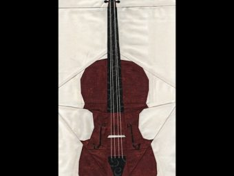 Musical Instrument Cello quilt pattern Shop Whims And Fancies Soma Acharya