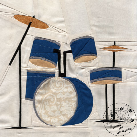 Musical Instrument Drumset quilt pattern Shop Whims And Fancies Soma Acharya