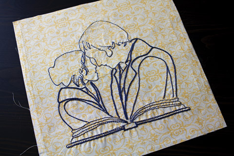 Fools In Love Pride And Prejudice hand embroidery pattern Shop Whims And Fancies Soma Acharya