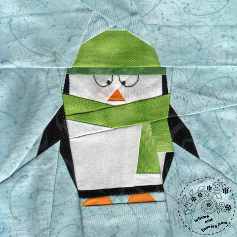 Little Penguin Polaris quilt pattern Shop Whims And Fancies Soma Acharya