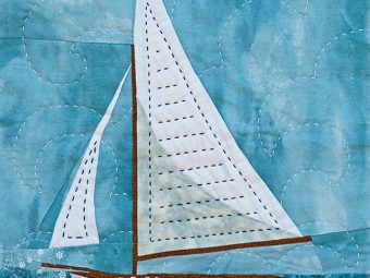 Summer Sailboat quilt pattern Shop Whims And Fancies Soma Acharya
