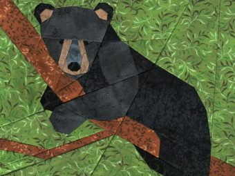 Bear Cub quilt pattern Shop Whims And Fancies Soma Acharya