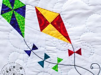 Spring Kites quilt pattern Shop Whims And Fancies Soma Acharya