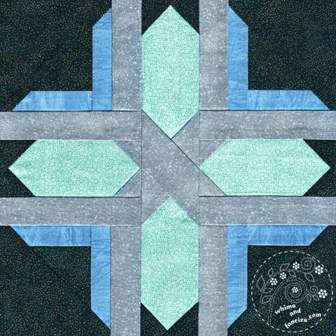 Fair Isle Star quilt pattern Shop Whims And Fancies Soma Acharya