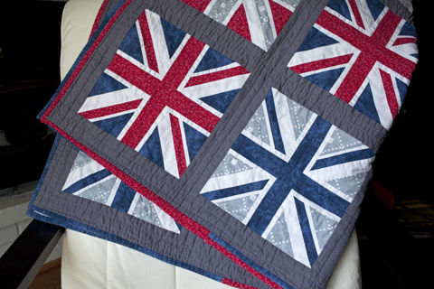 Union Jack quilt pattern Shop Whims And Fancies Soma Acharya
