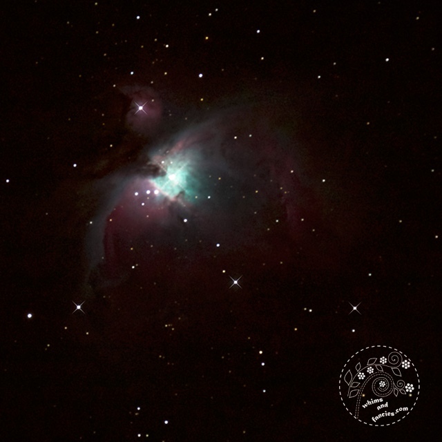 Astrophotography Orion Nebula in Orion Constellation | Whims And Fancies