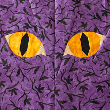 Cat Eyes Quilt Pattern | Whims And Fancies