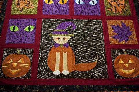 Pumpkins Halloween Quilt Pattern
