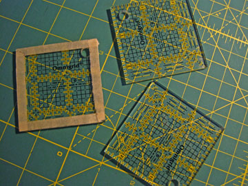 2.5 Square Quilting Rular For Fussy Cutting