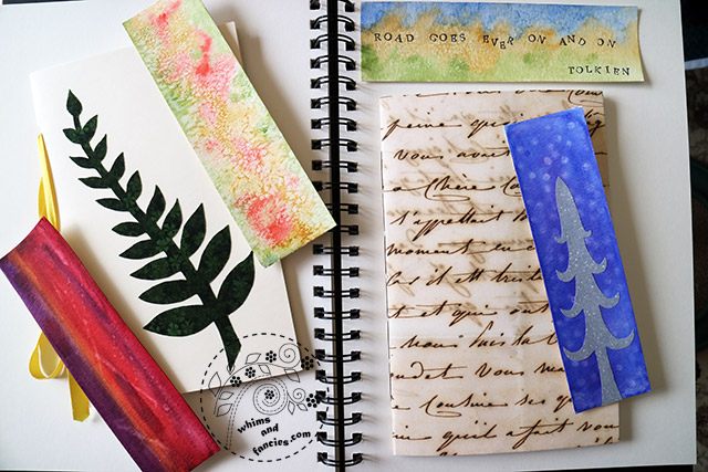 Easy Book And Bookmarks Making With Kids | Whims And Fancies