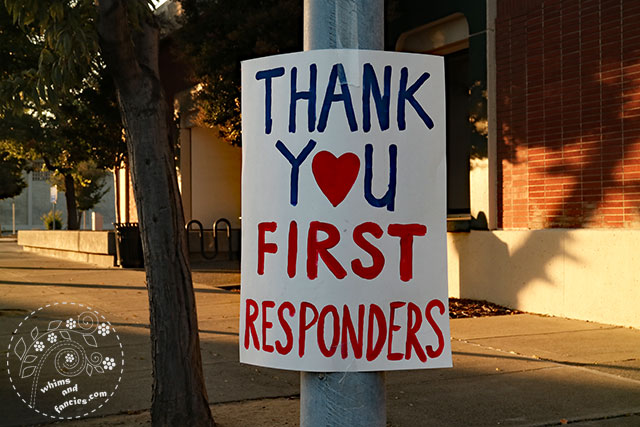 Thank You First Responders! Firefighter Quilt Pattern | Whims And Fancies