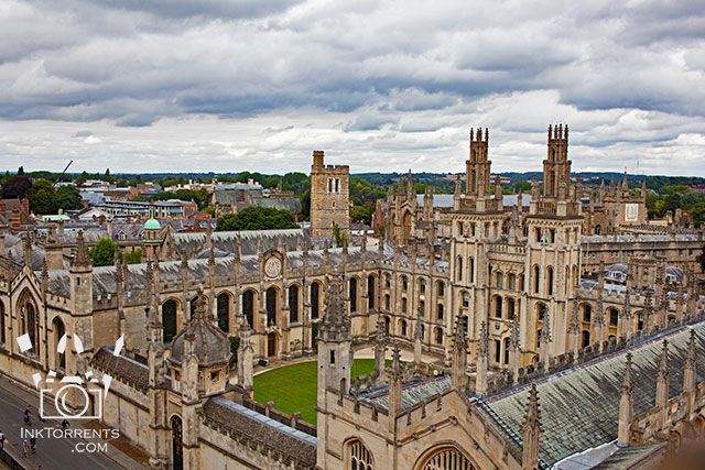 All Souls College view from university church St. Mary Oxford England @ InkTorrents.com by Soma Acharya