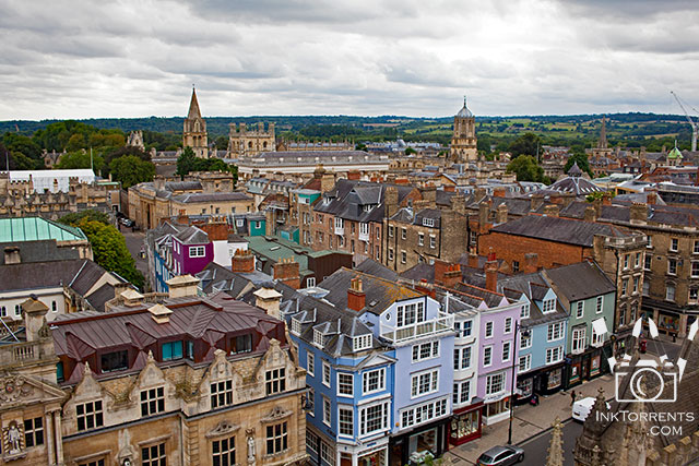 View from university church St. Mary Oxford England @ InkTorrents.com by Soma Acharya