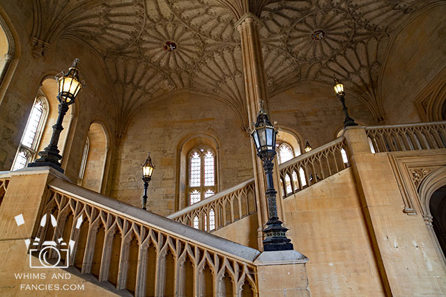Dining Hall Stairs, Christ Church, Oxford, UK | Whims And Fancies