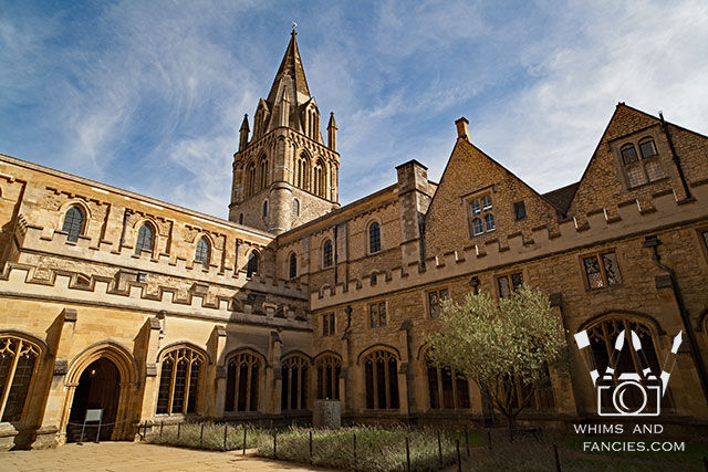The Cloister, Christ Church, Oxford, UK | Whims And Fancies