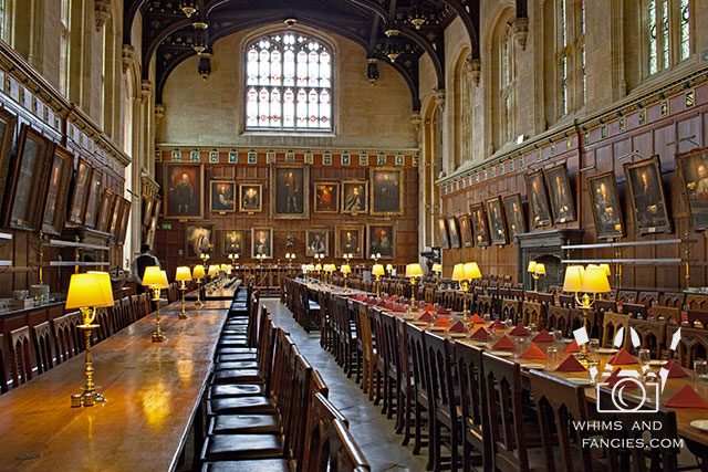 Dining Hall, Christ Church, Oxford, UK | Whims And Fancies