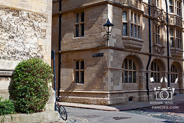 Magpie Lane, Oxford, England | Whims And Fancies