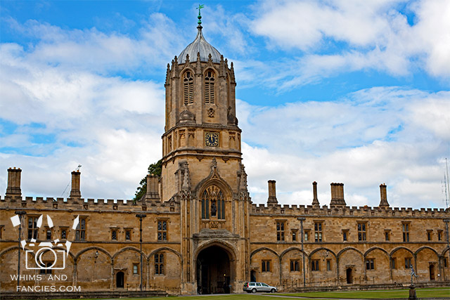 Tom Quad, Christ Church, Oxford, England | Whims And Fancies