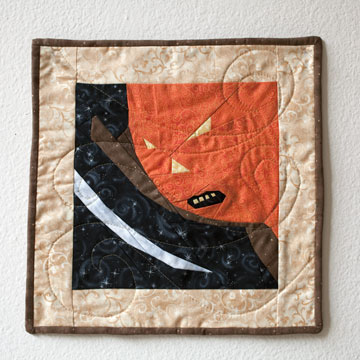 Halloween Quilt Pattern Pumpkin
