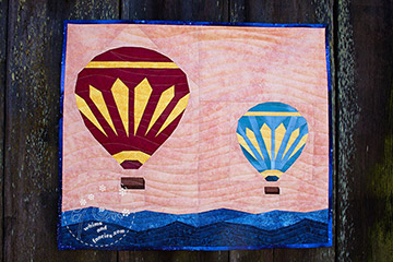 Hot Air Balloon Quilt Pattern