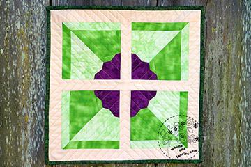 Pinwheel Flower Quilt Pattern