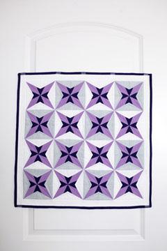 Purple Star Quilt Pattern