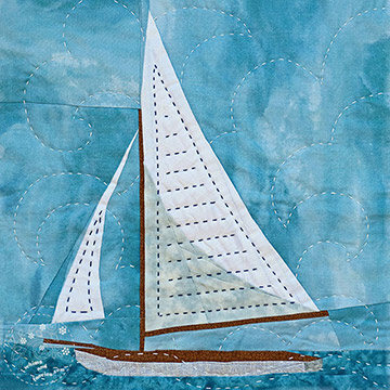 Summer Sailboat Quilt Patterns
