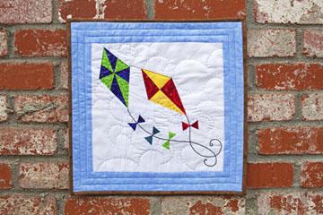 Spring Kites Quilt Pattern