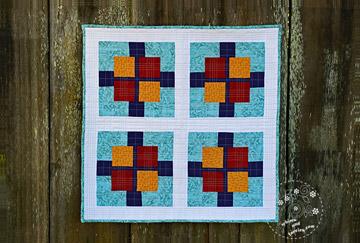 Squares Plus Quilt Pattern