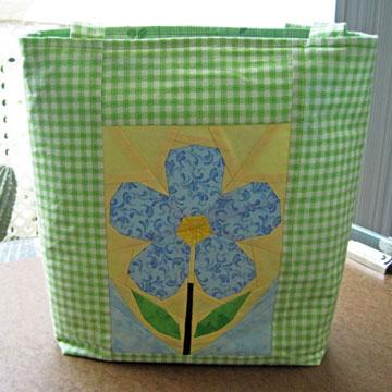 Flower Quilt Pattern Irish Flax