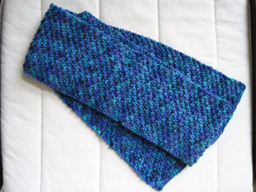 Gentle Strips Scarf