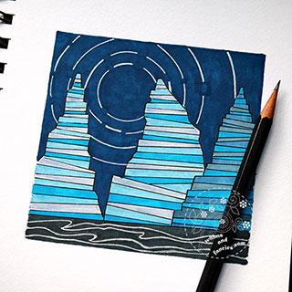 Science Art - Seastacks