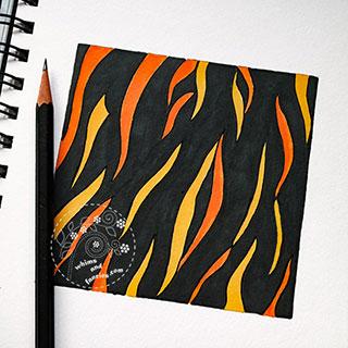 Science Art - Turin Pattern