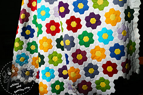 Hexagon Quilt | Whims And Fancies