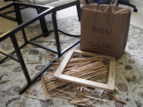 Ikea Granas Chair taken apart