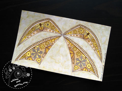 icad 2015 - Steampunk Wing Painting | Whims And Fancies