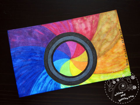 Icad 2015 - Focusing through lens painting | Whims And Fancies