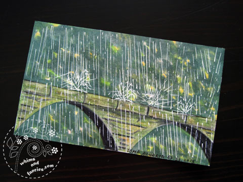 icad 2015 - Rain painting | Whims And Fancies