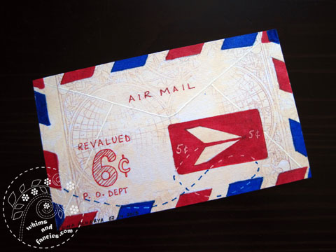 icad 2015 - Airmail painting | Whims And Fancies