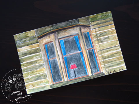 icad 2015 Edinburgh Tenement Painting | Whims And Fancies