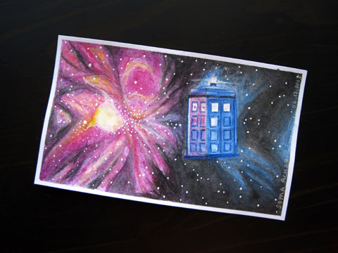 ICAD 2015 - Supernova Tardis| Whims And Fancies