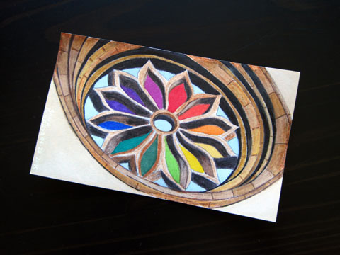Icad 2015 - Dryburgh Abbey Window Colour Wheel | Whims And Fancies