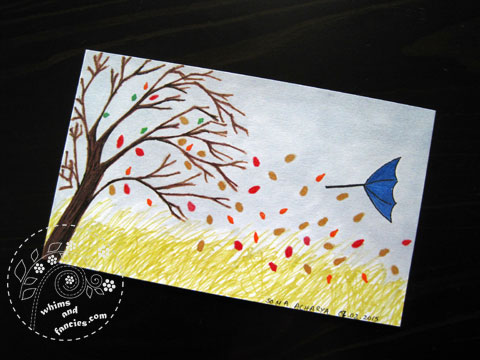 Icad 2015 - A Windy Autumn Day | Whims And Fancies
