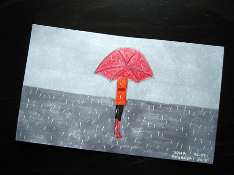 ICAD 2015 - Solitude in rain | Whims And Fancies