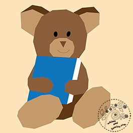 Teddy Bear Quilt Pattern | Whims And Fancies