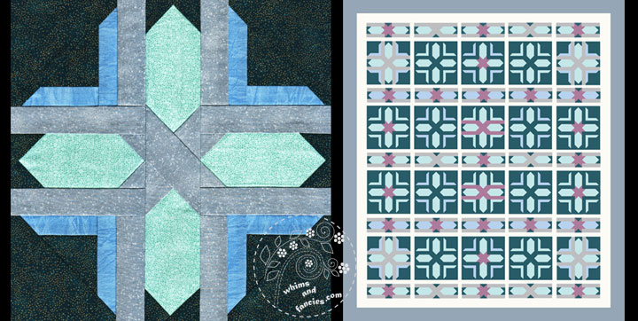 Nordic Star Quilt Pattern | Whims And Fancies