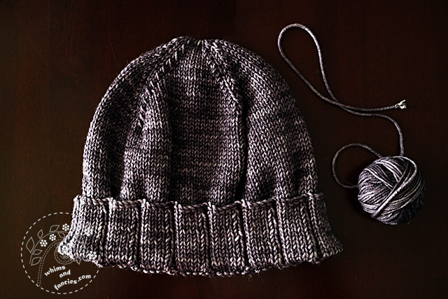 Thank You Hat With Purl Soho Pattern | Whims And Fancies